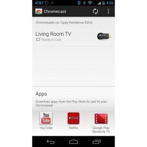 Chromecast IOS e Android l'applicazione