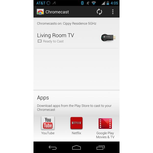 how to play video on chromecast from iphone