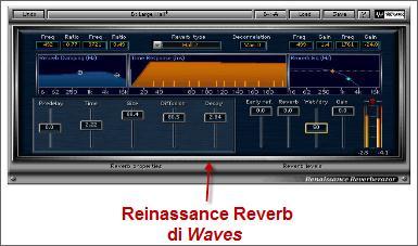 Reinassance Reverb di Waves