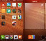 Red Rice Xiaomi homescreen