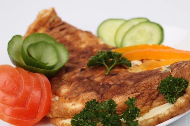 Frittata pollo e asparagi