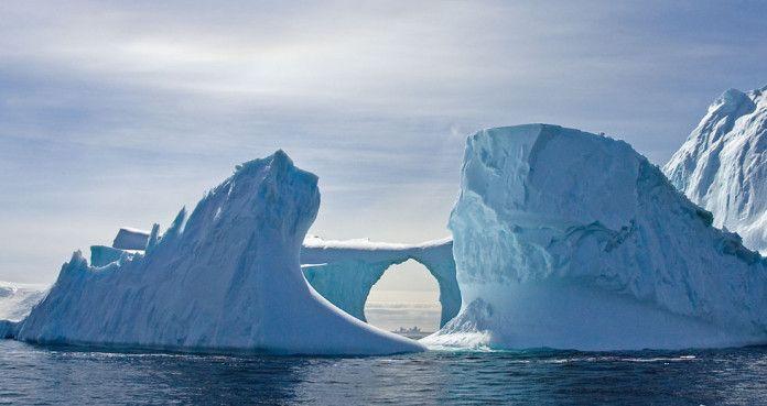 Antartide scioglimento dei ghiacciai