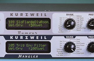 Kurzweil Mangler e Rumour