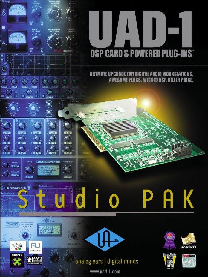 Universal Audio UAD - 1 Studio Pak