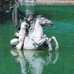 firenze una statua del giardino di boboli