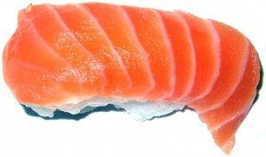 salmone, sushi, cucina orientale
