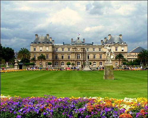 Parigi i giardini del Lussemburgo