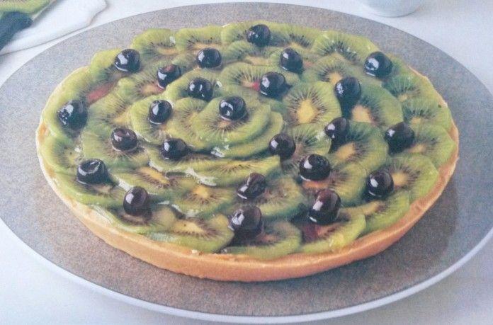 Il piatto del giorno: Crostata di kiwi