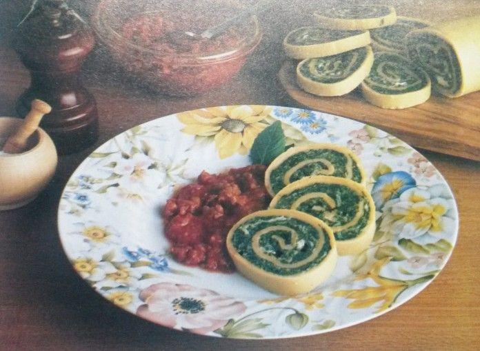 Il piatto del giorno: rotolo agli spinaci