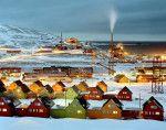 città più mulricolor del mondo.Longyarbyen