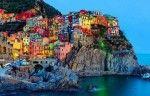 città più mulricolor del mondo.Manarola.Liguria
