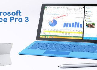 tablet microsoft surface pro 3