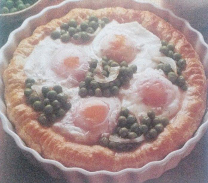 Crostata alle uova