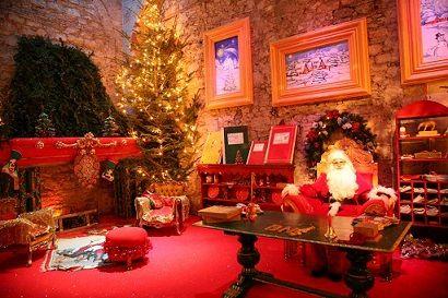 Casa di Babbo Natale a Montecatini Terme