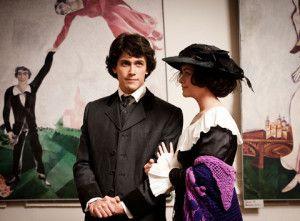 """Scena tratta dal film """"Chagall-Malevich"""" del regista Alexander Mitta."""