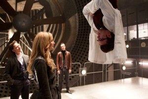 Raven/Mystica (Jennifer Lawrence) e Hank/Bestia (Nicholas Hoult) in una scena di X-Men: L'inizio (2011).