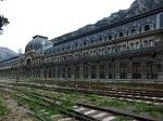 luoghi-abbandonati. Stazione fantasma di Canfranc