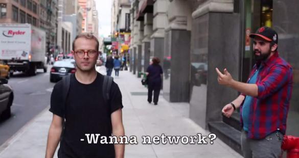 Video parodia delle molestie in strada