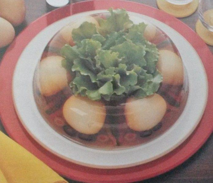 Ciambella di uova e carciofi