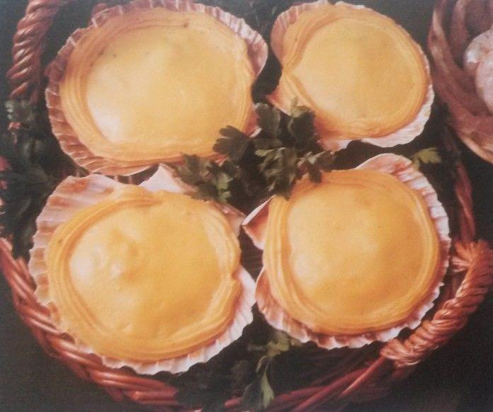 Conchiglie di gamberetti gratinate
