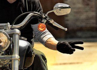 Saluto del motociclista