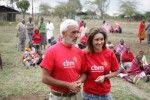 Ilenia Lazzarin e Patrizio Rispo, viaggio in India per CBM