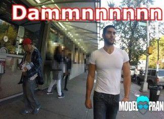 Model Pranksters imita Hollaback! sulle molestie in strada a New York