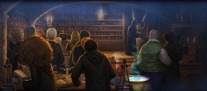 Aula di pozioni Harry Potter terzo inedito