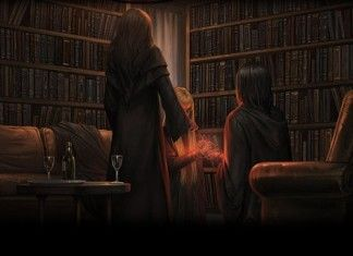 Severus Piton Snape Spinner's End Cokeworth