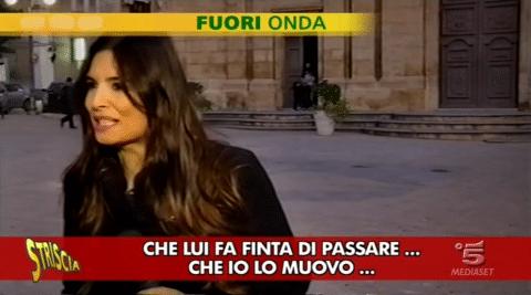 Fuori onda di Striscia Alessandra Borgia