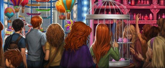 Tiri Vispi Weasley (Weasleys' Wizard Wheezes) Harry Potter secondo inedito
