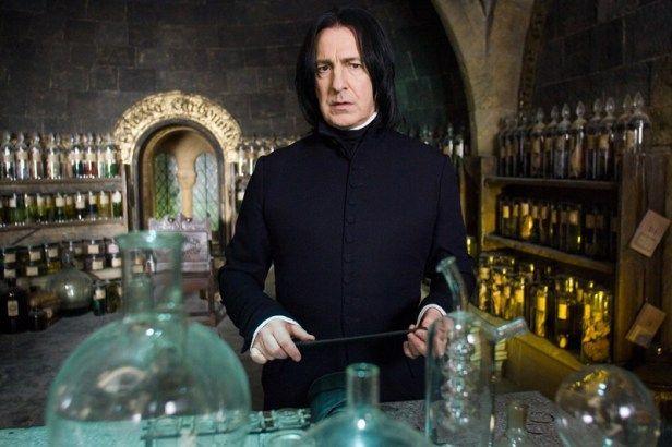 Severus Snape Piton pozioni terzo inedito