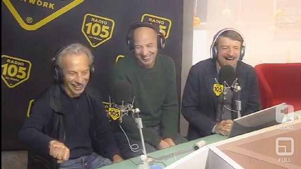 Aldo Giovanni e Giacomo a 105 friends: