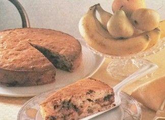 Piatto del giorno: Torta di banane, uvetta e cioccolato