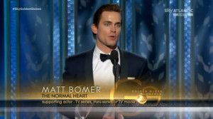 Matt Bomer è il migliore attore in un film per la tv