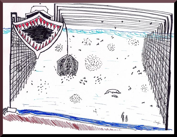 Le Monster Boats distruggono gli oceani