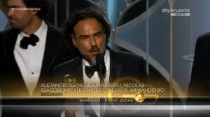 Golden Globe alla miglior sceneggiatura per il film Birdman