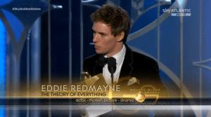 Eddie Redmayne è il migliore attore in un film drammatico