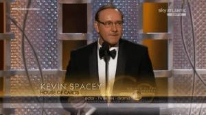 Kevin Spacey è il migliore attore in una serie drammatica