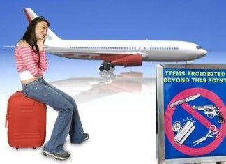 norme oggetti proibiti in aereo