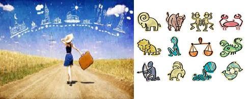 segni zodiacali e viaggi