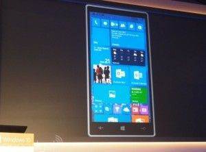 Windows 10: dispositivi mobili
