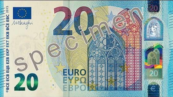 nuove 20 euro