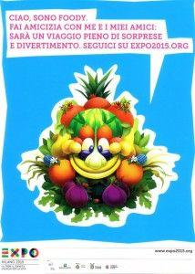 Expo Milano 2015: Foody la mascotte