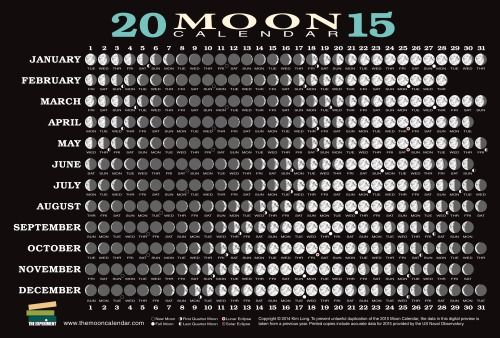 Calendario Lunare Bellezza E Salute