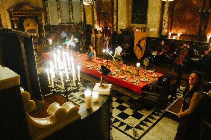 All'Andaz Liverpool Street Hotel gli ospiti hanno mangiato in perfetto stile Game of Thrones