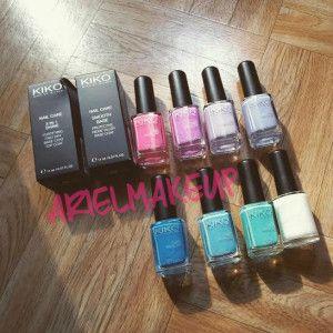 Smalti KIKO Nail Lacquer & Quick dry nail lacquer