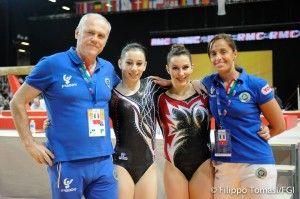 Ginnastica artistica europei 2015: nella classifica all-around femminile Erika Fasana si posiziona quarta e Martina Rizzelli nona.