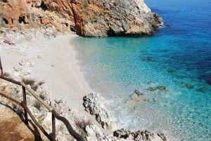spiagge italiane: cala capreria riserva naturale dello zingaro