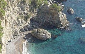 spiagge italiane: spiaggia di gavitella praiano